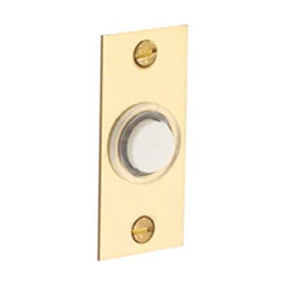 Rectangular Doorbell Button Color: Oil Rubbed Bronze