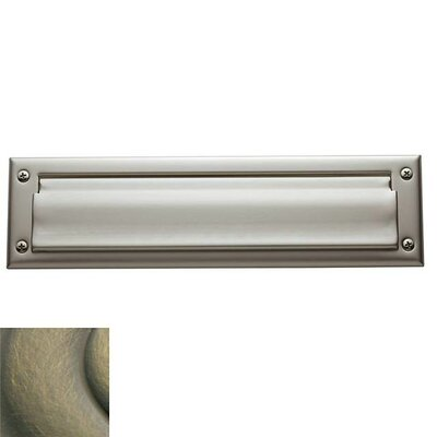 13 in x 3.5 Mail Slot Color: Lifetime Brass