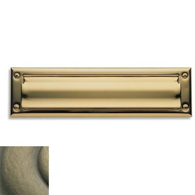 13 in x 3.5 Mail Slot Color: Antique Brass