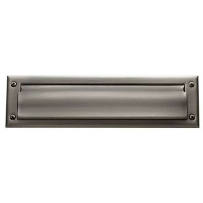 13 in x 3.5 Mail Slot Color: Antique Nickel