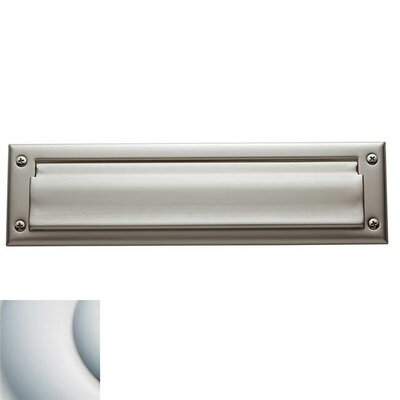 13 in x 3.5 Mail Slot Color: Satin Chrome