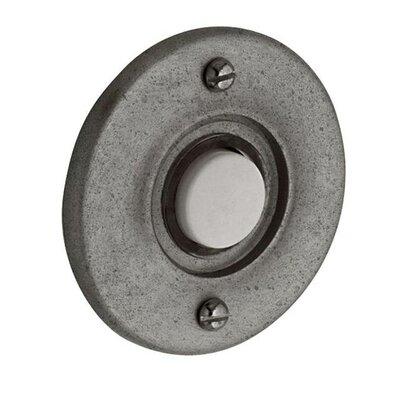Round Doorbell Button Color: Distressed Antique Nickel