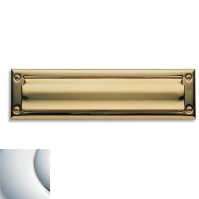 13 in x 3.5 Mail Slot Color: Bright Chrome