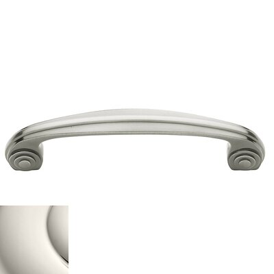 "Deco 4"" Center Arch Pull Color: Bright Nickel"