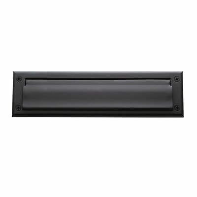 13 in x 3.5 Mail Slot Color: Oil Rubbed Bronze