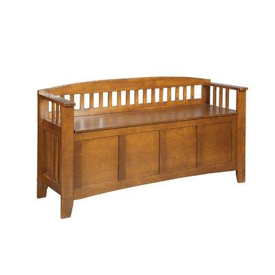 Wood Storage Bench