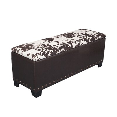 Fabric Storage Bench