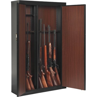 Woodmark Metal Cabinet Gun Safe with Key Lock Gun Capacity: 16 Gun