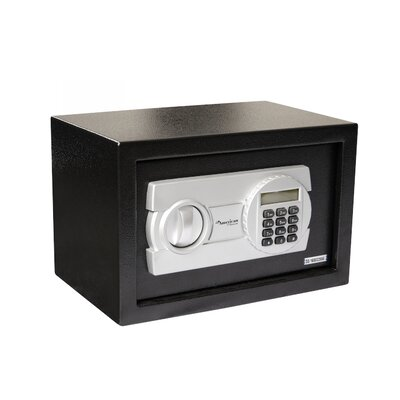 """Digital Home Safe Box with Electronic Lock Size: 9.8"""" H x 13.8"""" W x 9.8"""" D"""