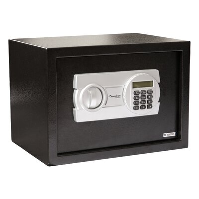 """Digital Home Safe Box with Electronic Lock Size: 7.9"""" H x 12.2"""" W x 7.9"""" D"""