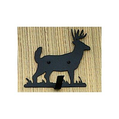 Lone Deer Single Key Holder Wall Hook