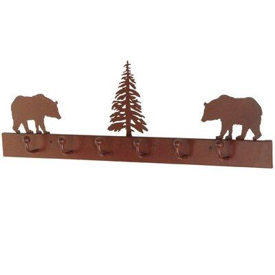 Bear on the Loose 6 Wall Hook