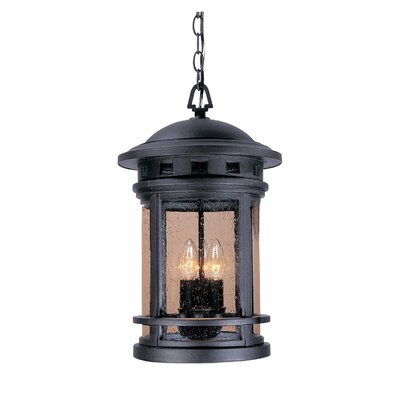 Designers Fountain Sedona 3 Light Outdoor Hanging Lantern