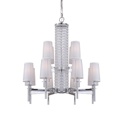 Designers Fountain Candence 12 Light Chandelier