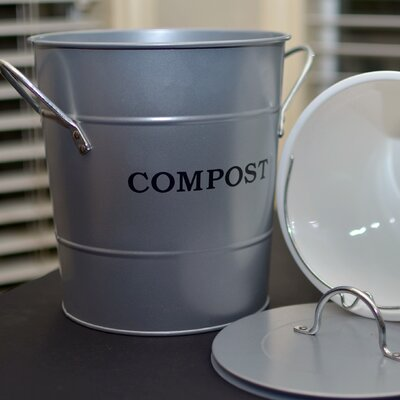 1 Gal. Kitchen Composter Color: Silver