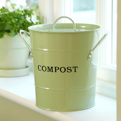 1 Gal. Kitchen Composter Color: Apple Green