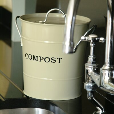 1 Gal. Kitchen Composter Color: Oatmeal