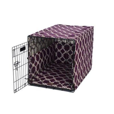 "Kratos Crate Cover Up Set Size: Medium (19"" H x 19"" W x 30"" D), Color: Prince Blue"