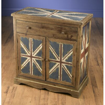 Britania 1 Drawer 2 Door Accent Cabinet