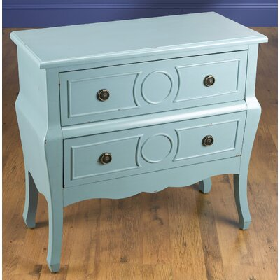 2 Drawer Chest Color: Blue