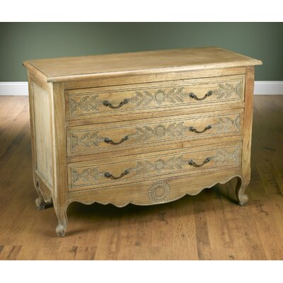3 Drawer Chest Color: Pickled