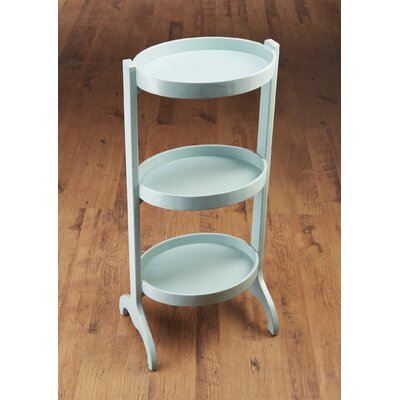 Multi-Tiered Plant Stand Color: Blue