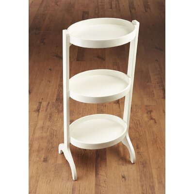 Multi-Tiered Plant Stand Color: White
