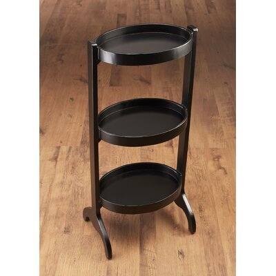 Multi-Tiered Plant Stand Color: Black