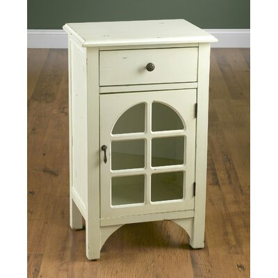 1 Drawer 1 Door Accent Cabinet
