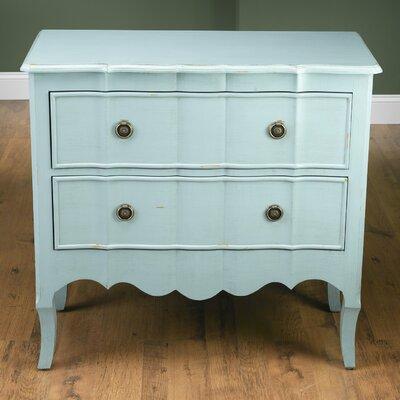 2 Drawer Chest Color: Light Blue