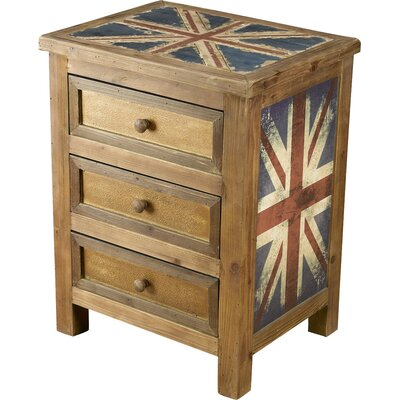 Britania 3 Drawer Chest