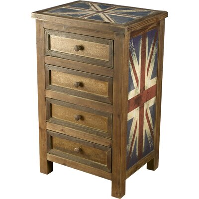 Britania 4 Drawer Chest