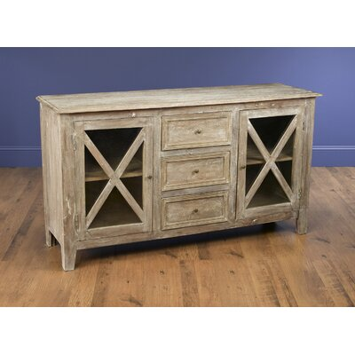 Vermillion 3 Drawer Accent Cabinet Color: Weathered Sand