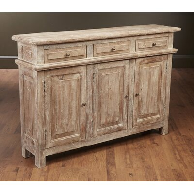 Washington 3 Door Accent Cabinet Color: Weathered Sand