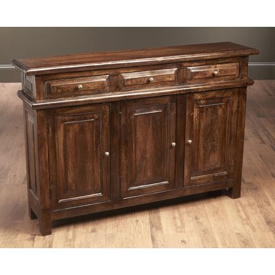Washington 3 Door Accent Cabinet Color: Pecan