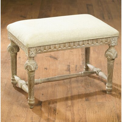 Kennie Accent Stool Frame Color: Weathered Sand