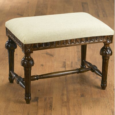 Kennie Accent Stool Frame Color: Pecan