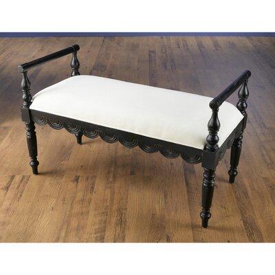 Upholstered Bench Color: Black