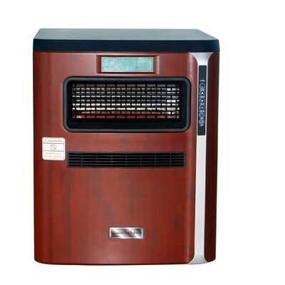 1,500 Watt Portable Electric Infrared Cabinet Heater with Air Purifier, Hepa Filter, Humidifier