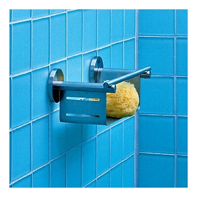Blomus Primo Metal Wall Mounted Squeegee and Razor Holder