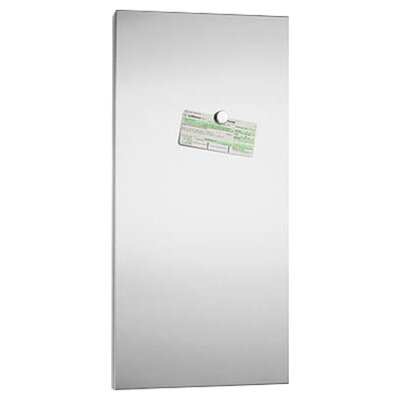 Blomus Muro Magnetic Wall Mounted Whiteboard, 81.5cm H x 41.5cm W