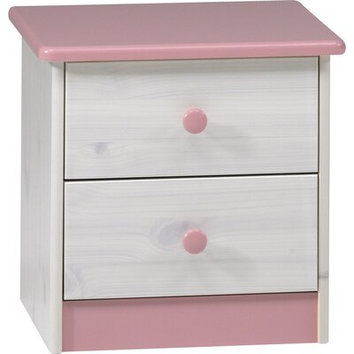 Steens Furniture Ripley 2 Drawer Bedside Table