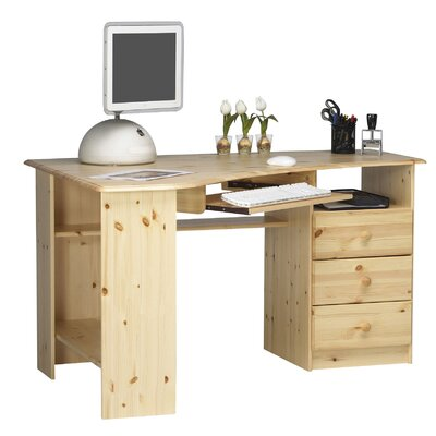 Steens Furniture Kent Writing Desk with Keyboard Tray