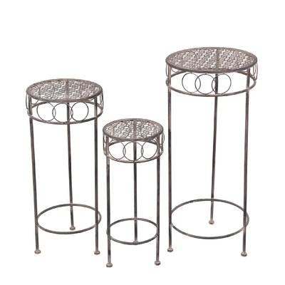 Defalco Atwood 3 Piece Plant Stand Set