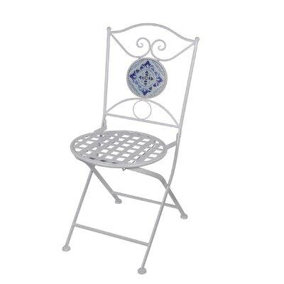 Tile Metal Folding Chair