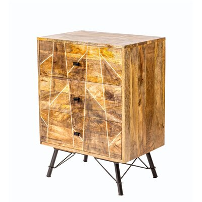 George 3 Drawer Accent Chest