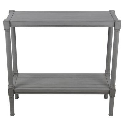 Alexander Console Table Color: Gray