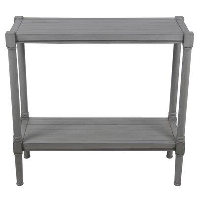 Alexander Console Table Color: Gray