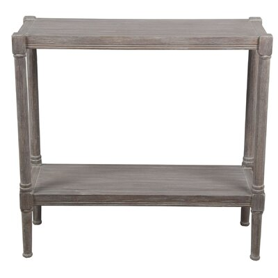Alexander Console Table Color: Natural