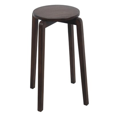 Benavides Stackable Accent Stool Finish: Brown